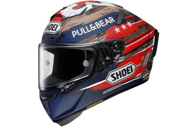 画像: マルク・マルケス選手のレプリカヘルメット SHOEI「X-Fourteen MARQUEZ AMERICA」- webオートバイ