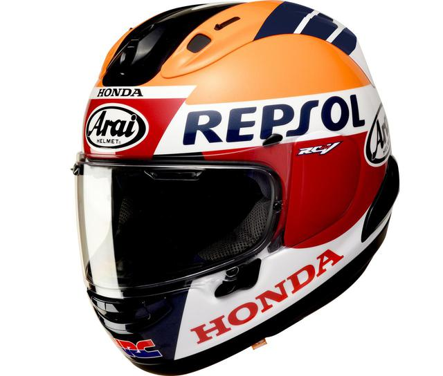 画像: Honda Arai RX-7X REPSOL サイズ:S(55-56cm)、M(57-58cm)、L(59-60cm)、XL(61-62cm) シリアルナンバー入り、専用外箱付き 税別価格:70,000円