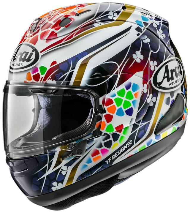 画像: MotoGP中上貴晶選手の最新レプリカのモチーフはステンドグラス! アライヘルメット「RX-7X NAKAGAMI GP2」が新登場 - webオートバイ