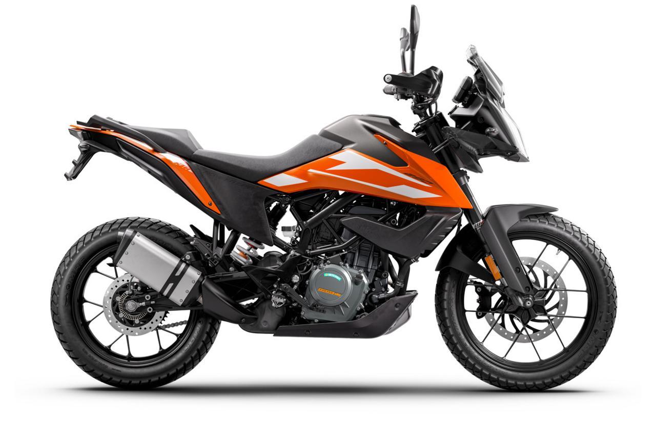 画像10: 【2021速報】KTM「250アドベンチャー」の日本での発売が決定! 扱いやすくてロングツーリングも楽しめる新たな250ccバイク