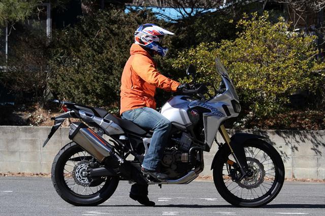 画像: 濱矢文夫の『ニューモデル試乗最前線』 Honda CRF1000L Africa Twin | WEB Mr.BIKE