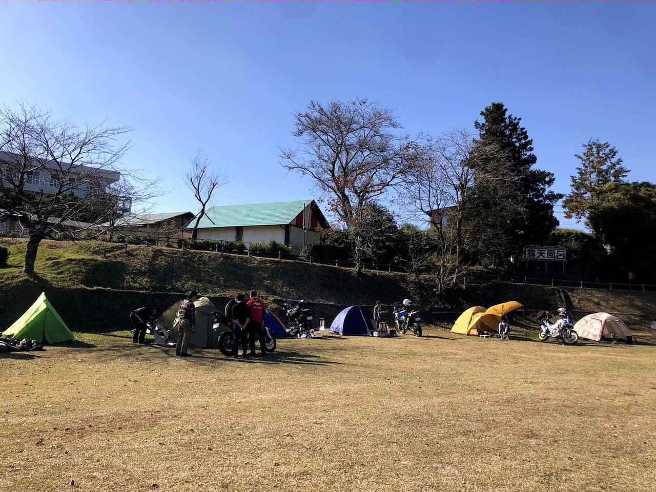 画像1: アフリカツインオーナーが集うキャンプに潜入!