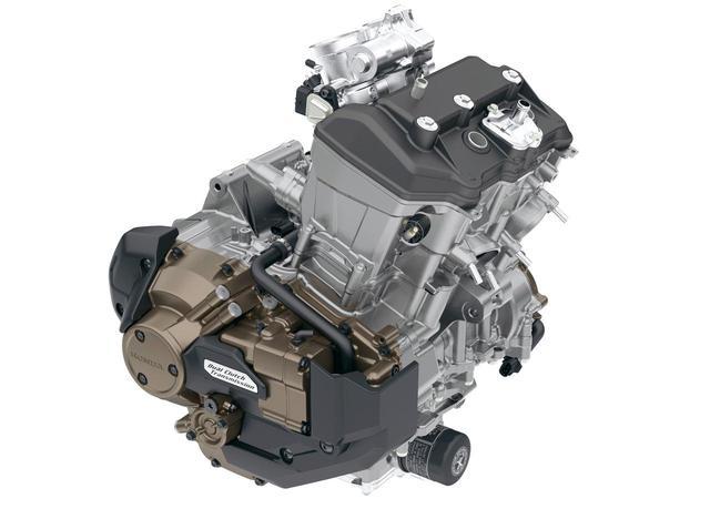 画像: エンジンは1082ccのユニカム4バルブ? 昨今、単一機種用の専用エンジン、という話は聞いたことがなく、大型スポーツ用ツイン、となれば、今最も可能性があるのはこのユニット。アフリカツイン用1082㏄・ユニカム4バルブエンジンだ。アドベンチャー用として熟成の進んだ、中域のトルクが豊かなエンジンはまさにツーリングスポーツにはうってつけのユニットだ。