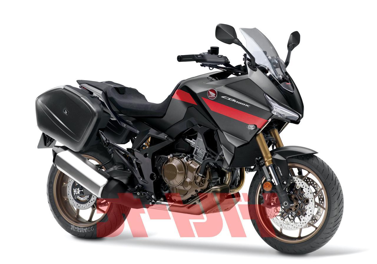 Images : 1番目の画像 - Honda CB1100X(予想CG) - webオートバイ