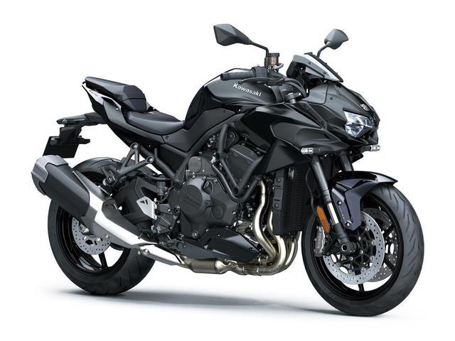 画像: Kawasaki Z H2 (2021年モデル) 総排気量:998cc エンジン形式:水冷4ストDOHC4バルブ並列4気筒 シート高:830mm 車両重量:240kg