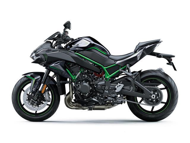 画像5: カワサキが「Z H2」の2021年モデルを発売! ニューカラーは全身ブラック【2021速報】