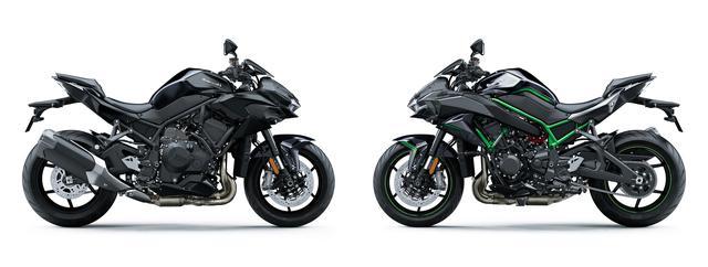 画像7: カワサキが「Z H2」の2021年モデルを発売! ニューカラーは全身ブラック【2021速報】