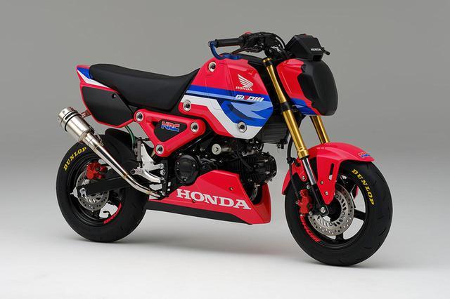 画像: 日本で発表された新型グロムのレースベース車 - webオートバイ