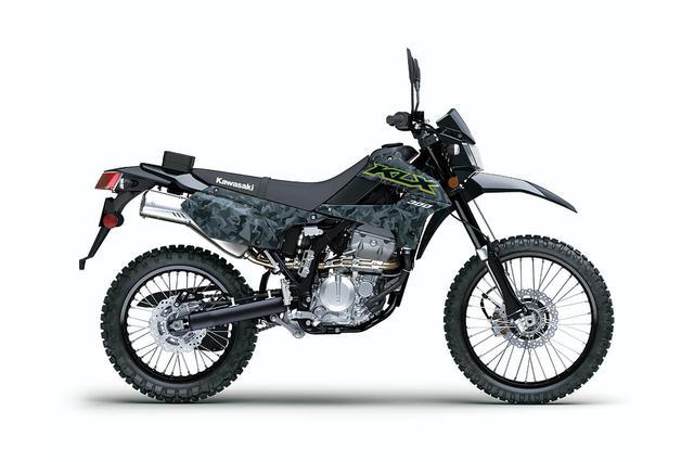 画像8: 【2021速報】カワサキが米国で「KLX300」を発表! モタードの「KLX300SM」も同時に登場