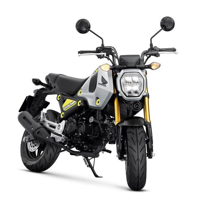 画像: ホンダ 新型「グロム」 総排気量:125cc エンジン形式:空冷4スト2バルブ単気筒 シート高:761mm 車両重量:103kg ※写真・スペックは欧州で発表されたHonda MSX125 Grom