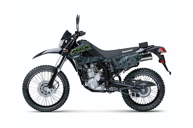 画像7: 【2021速報】カワサキが米国で「KLX300」を発表! モタードの「KLX300SM」も同時に登場
