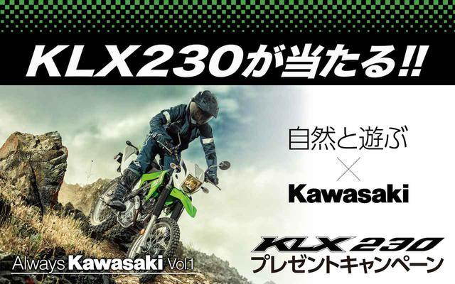 画像: 【申込無料・約3分で応募完了】KLX230がもらえるかも! カワサキが「KLX230プレゼントキャンペーン」をスタート! - webオートバイ