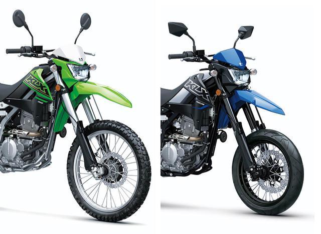 画像: 【2021速報】カワサキが米国で「KLX300」を発表! モタードの「KLX300SM」も同時に登場 - webオートバイ