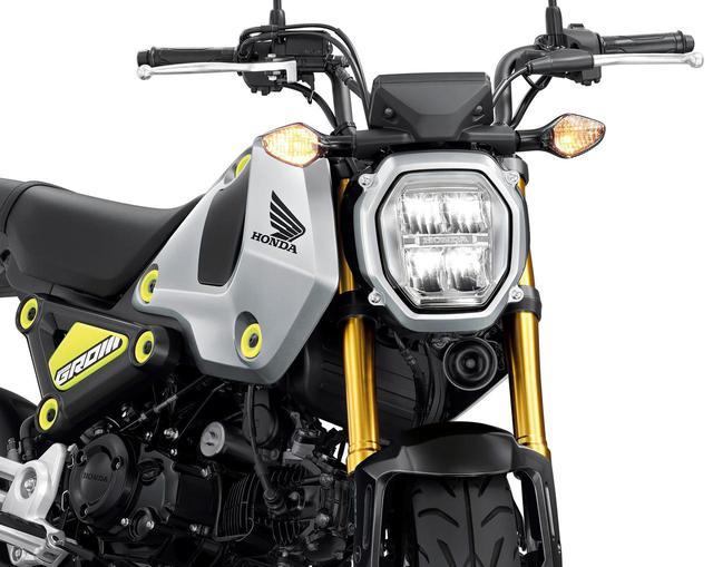画像: 新型グロムのカラーバリエーションやスペックなど - webオートバイ