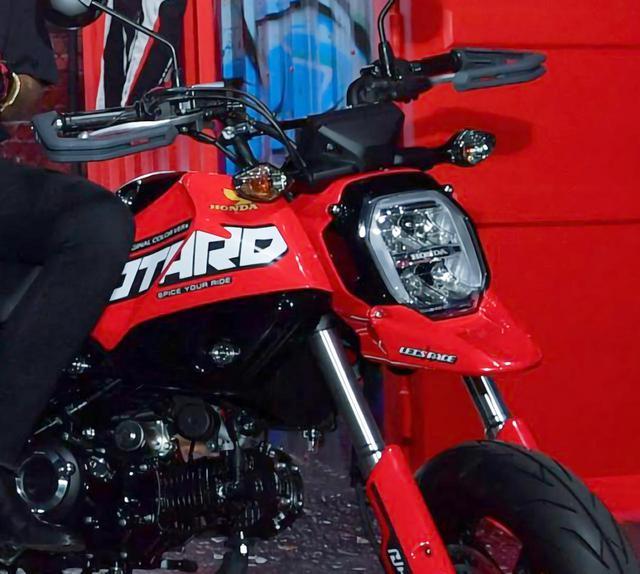画像: タイホンダが公開したスクランブラー、モタード、アドベンチャーに変身した新型グロム - webオートバイ