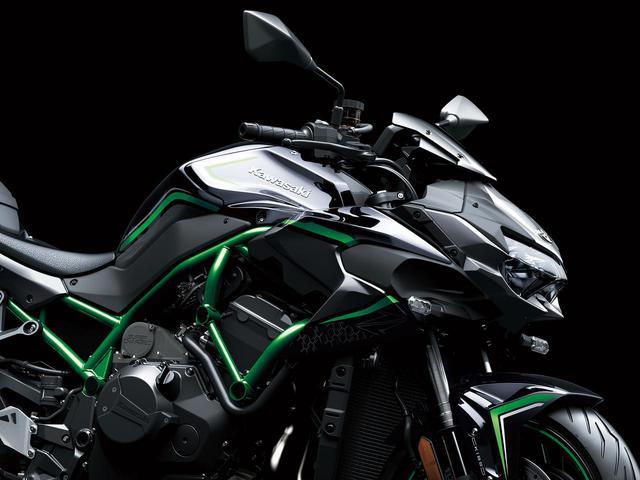 画像: カワサキのスーパーネイキッド「Z H2」は何がすごいのか? エンジン・フレーム・装備を解説 - webオートバイ