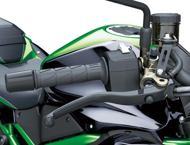 画像4: カワサキが新型車「Z H2 SE」を発表! ショーワの最新サスペンションとブレンボの高性能ブレーキキャリパーを搭載【2021速報】