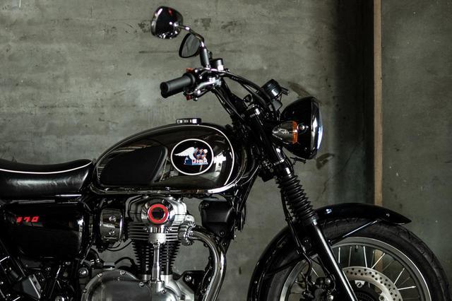 画像: 【2021速報】カワサキが「メグロ」ブランドの新型車を正式発表! 名称は「MEGURO K3」 - webオートバイ