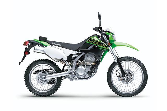 画像5: 【2021速報】カワサキが米国で「KLX300」を発表! モタードの「KLX300SM」も同時に登場