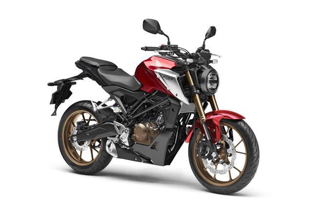 画像: 【写真8枚】新型CB125Rをもっと見る - webオートバイ
