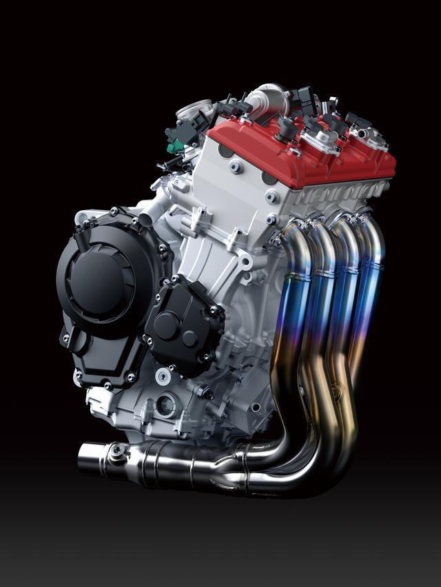 画像: 写真は2018年式ZX-10Rのエンジン
