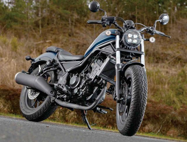 画像: ホンダ「レブル250」インプレ・車両解説 - webオートバイ