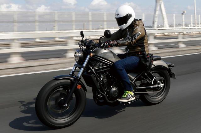 画像: ホンダ「レブル500」ツーリング・インプレ - webオートバイ