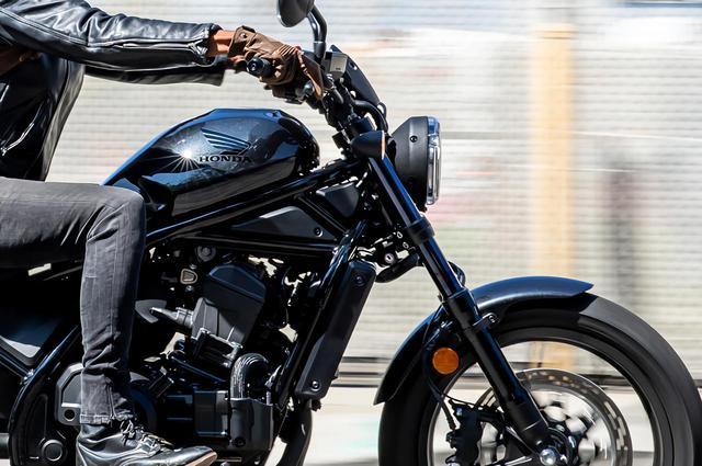 画像: ホンダ「レブル1100」スペック・カラー・車両概要 - webオートバイ