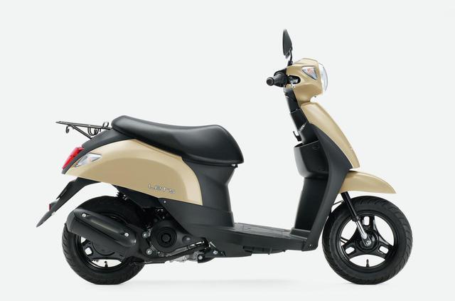 画像2: スズキの50ccスクーター「レッツ」に新色が登場! 既存の3色と合わせて全4色で2020年12月8日に発売【2021速報】
