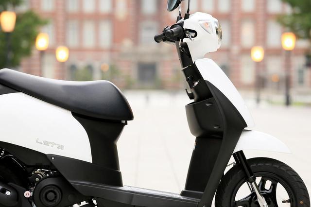 画像: スズキ「レッツ」の車両概要と試乗インプレはこちら - webオートバイ