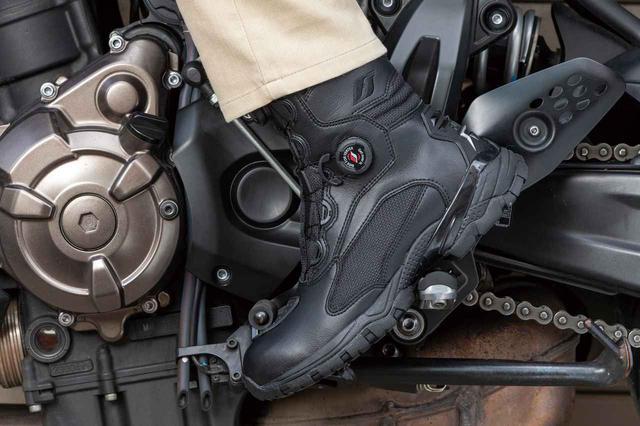画像: フラッグシップ FSB-802 タクティカルライディングブーツ 税込価格:1万8480円 サイズ:23.0~28.0cm カラー:ブラック、サンドベージュ