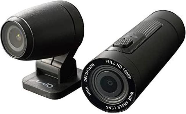 画像1: 【 M777D 】Amazonでもお買い求めいただけます。 | デイトナ Mio(ミオ) バイク用 ドライブレコーダー アクションカメラ 前後2カメラ 200万画素 フルHD 防水 防塵 LED信号 MiVue M777D 17101