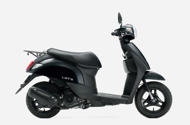 画像6: スズキの50ccスクーター「レッツ」に新色が登場! 既存の3色と合わせて全4色で2020年12月8日に発売【2021速報】