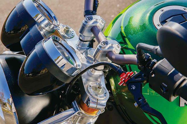 画像: ウイリーZ900RS(カワサキZ900RS)高質ビレットパーツでスポーティにアップグレード【Heritage&Legends】