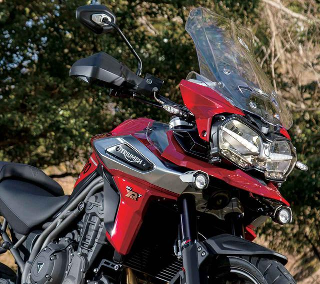 画像: 【詳しい試乗インプレ・車両解説はこちら】トライアンフ「タイガー1200XRT」 - webオートバイ