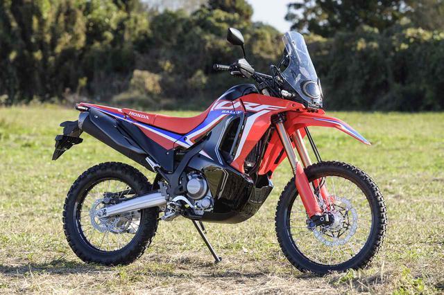 画像1: ホンダ新型「CRF250ラリー」の詳しい解説記事 - webオートバイ