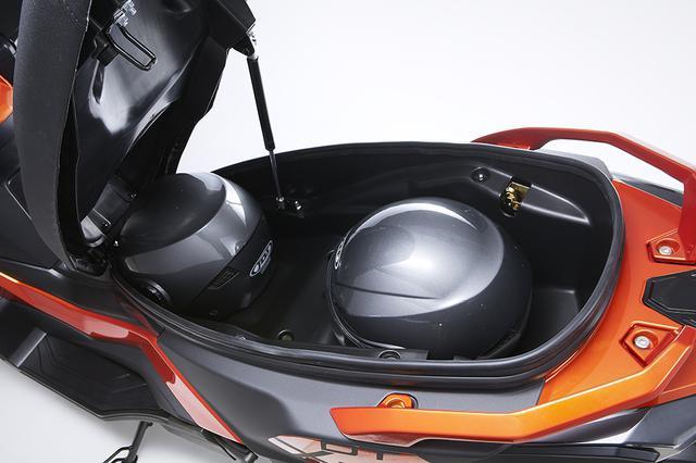 画像5: スクーターの快適性、利便性をアドベンチャーにミックス
