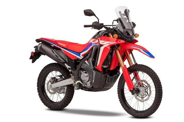 画像: Honda CRF300 RALLY 欧州仕様車 総排気量:286cc