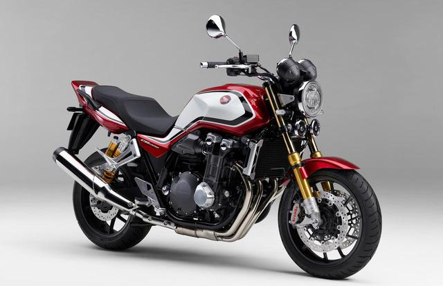 画像: 新型「CB1300 SUPER FOUR SP」