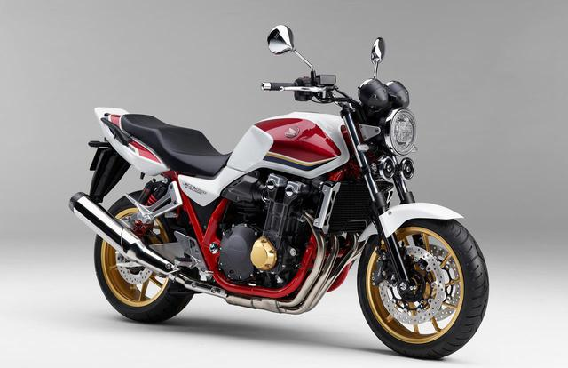 画像1: 新型「CB1300 SUPER FOUR」