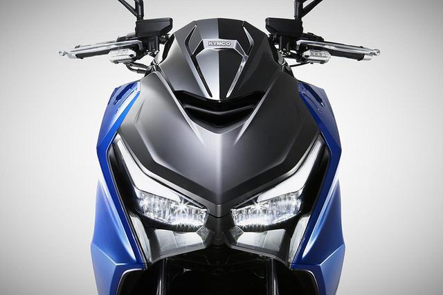 画像: キムコの新型車「KRV」登場! 平日はコミュータ、週末はツーリングを楽しめるオールラウンドなスポーツRVスクーター【2021速報】 - webオートバイ