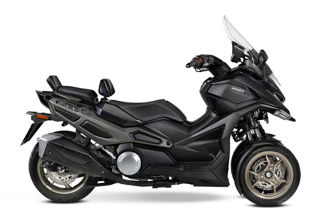 画像4: キムコが初の三輪スクーター「CV3」を正式発表! 排気量は550cc、ロングツーリングも快適に楽しめる最新装備が満載【2021速報】