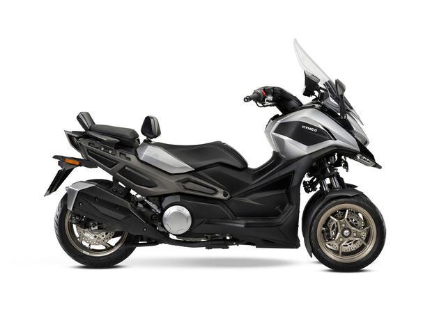 画像5: キムコが初の三輪スクーター「CV3」を正式発表! 排気量は550cc、ロングツーリングも快適に楽しめる最新装備が満載【2021速報】
