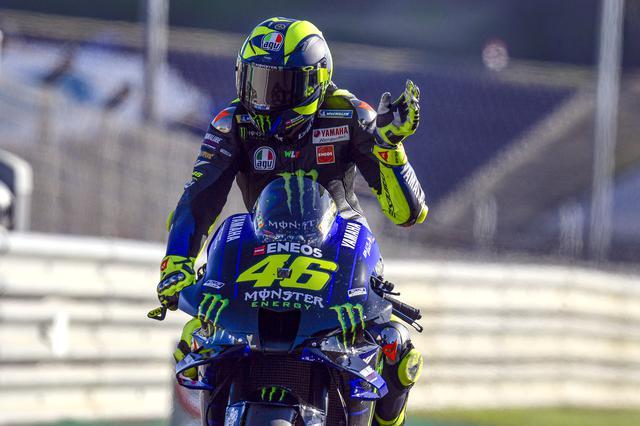 画像: オートバイレースでパーソナルゼッケンと言えばこの人、バレンティーノ・ロッシと46番