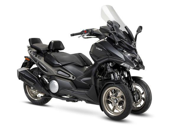 画像1: キムコが初の三輪スクーター「CV3」を正式発表! 排気量は550cc、ロングツーリングも快適に楽しめる最新装備が満載【2021速報】