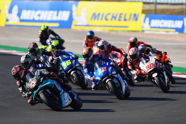 画像: MotoGPはもう、ほとんどが希望ゼッケンです 20=クアルタラロ、42=リンス、30=中上、36=ミルといった具合です これを覚えるのもファンの楽しみのひとつだと思います