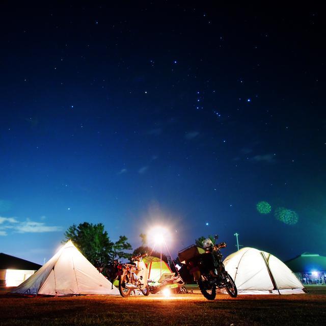 画像: キャンプの夜は星を撮ろう