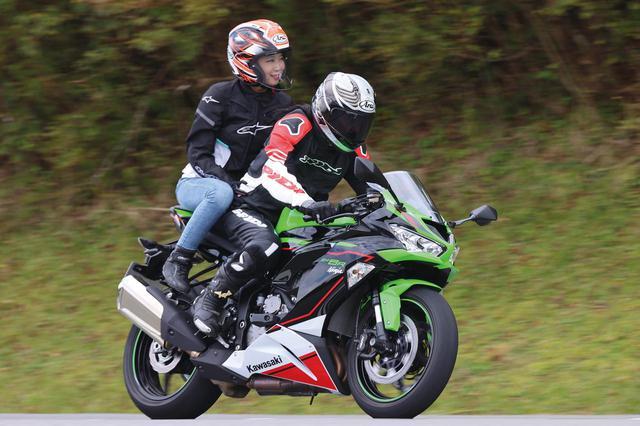 画像: Kawasaki Ninja ZX-6R KRT EDITION 総排気量:636cc エンジン形式:水冷4ストDOHC4バルブ並列4気筒 最高出力:93kW(126PS)/13500rpm ※ラムエア加圧時:97kW(132PS)/13500rpm 最大トルク:70N・m(7.1kgf・m)/11000rpm 車両重量:197kg メーカー希望小売価格:123万円(消費税10%込)