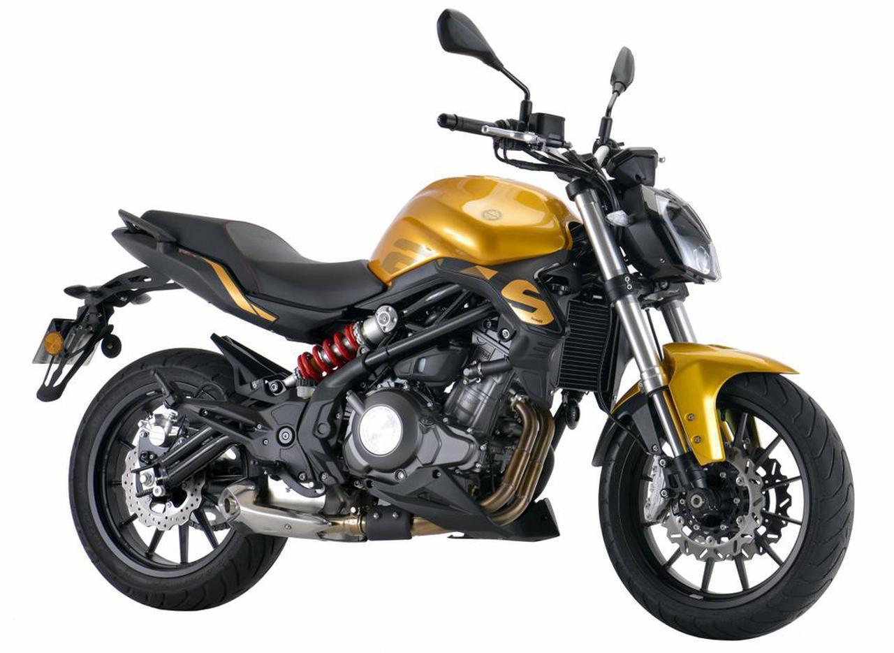 画像2: ベネリ「TNT249S」の日本での正規販売が決定! ヨーロピアンデザインの水冷2気筒250ccネイキッドバイク【2021速報】