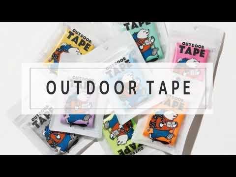 画像: アウトドアテープ www.youtube.com